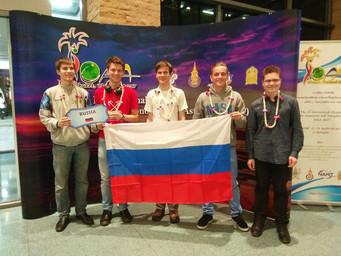 РЕН ТВ - 5 медалей Российских школьников