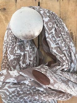 décoration - porte-manteau velours