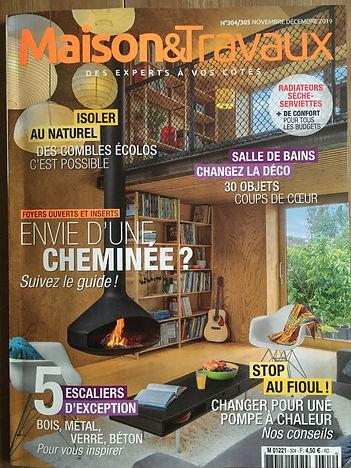 Publication Maison&Travaux nov 2019 - co