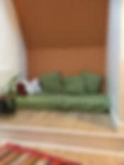 rénovation - palier couloir