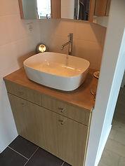 vasque après rénovation