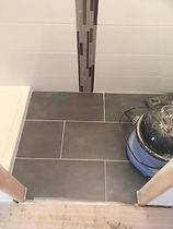 travaux carrelage salle de bain
