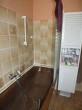 Salle de bain avant travaux