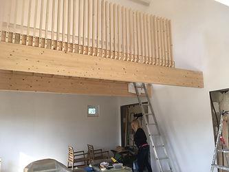 mezzanine bois