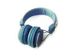 Blue Headphones