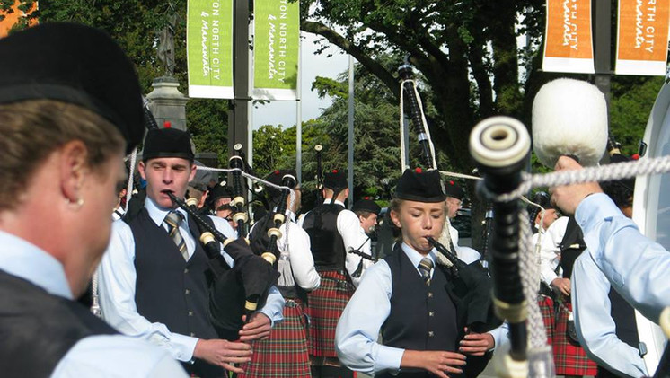 Young Northcal Pipers