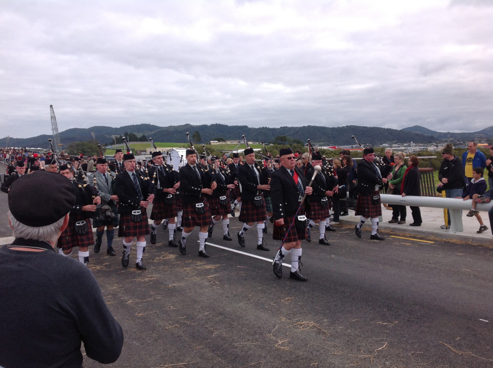 NorthCal Opening the Whangarei Bridge