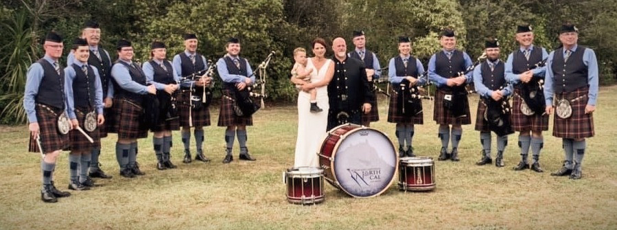 Northland Caledonian Pipe Band Performance