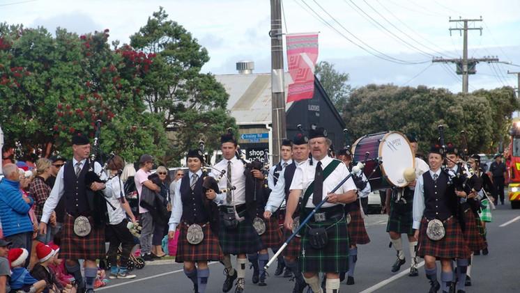 NorthCal marching at Waipu