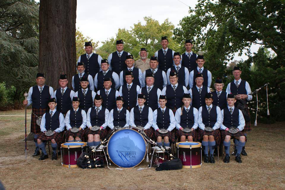 NorthCal Pipe Band 2018