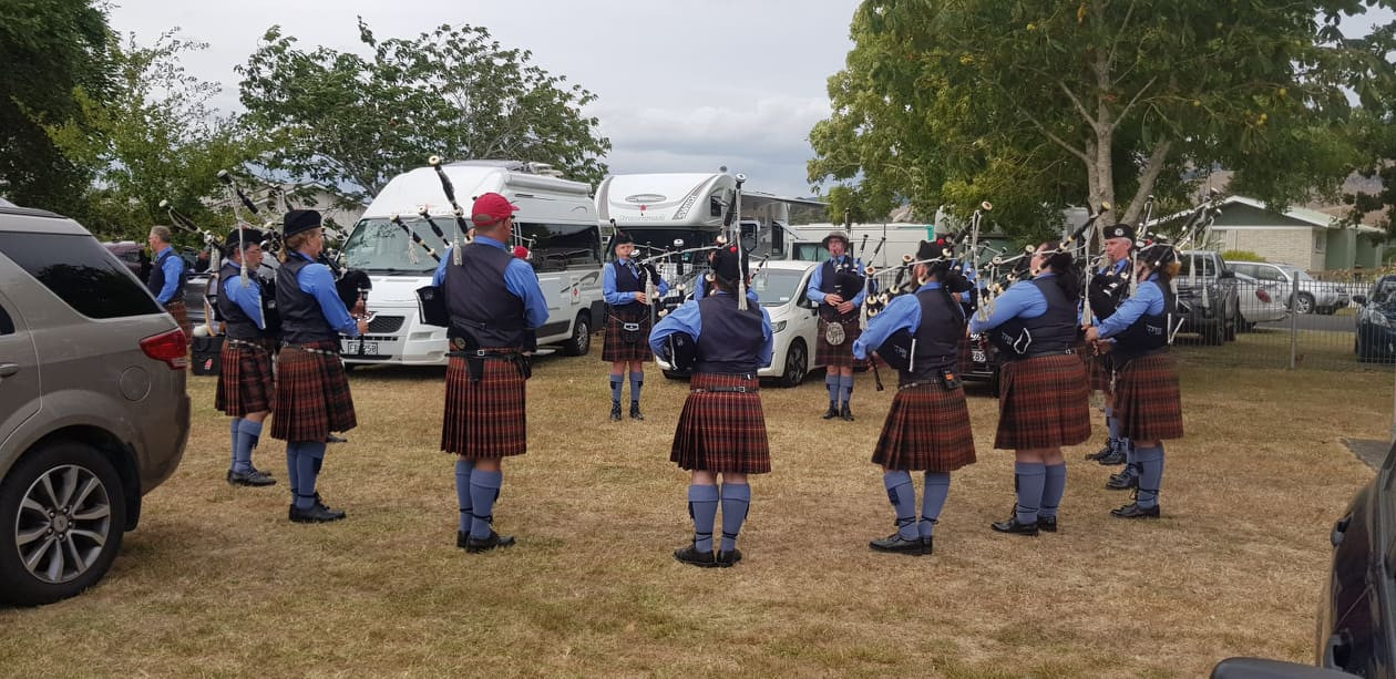 Northland Caledonian Pipe Band