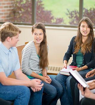 Teen studiegroep