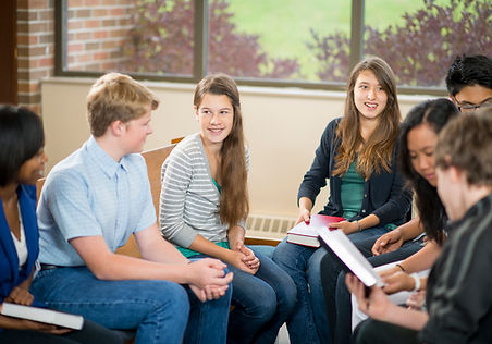 grupo de estudo adolescente