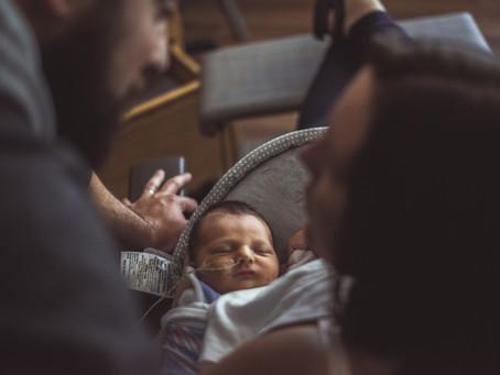 Amanda, Patrick & Rory - Maternity & Newborn Photoshoot