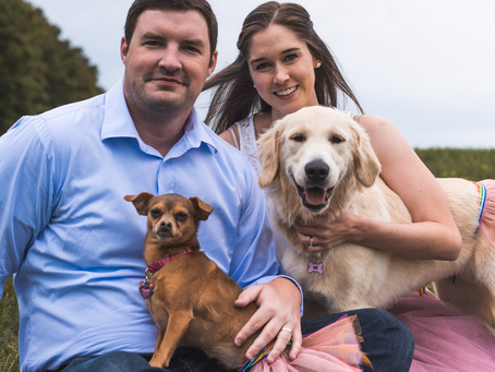 Lauren, Tom, Minnie & Lucy 9.9.2018 - FurFamily Photoshoot | Knox Farms State Park, East Aurora, NY