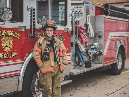 Nick   Senior Portraits 10.25.2015   Buffalo, NY   Firefighter and EMS Photoshoot