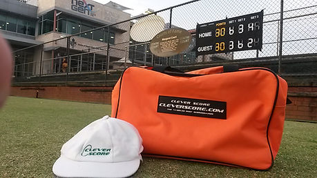 3 Set Tennis Scoreboard Perth