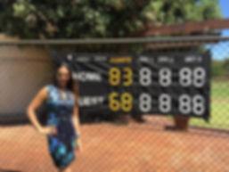 Uber Fold Tennis Scoreboard