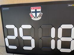 AFL Interchange Board St Kilda