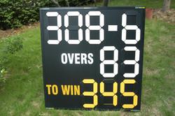 Cricket scoreboard for China Cricket