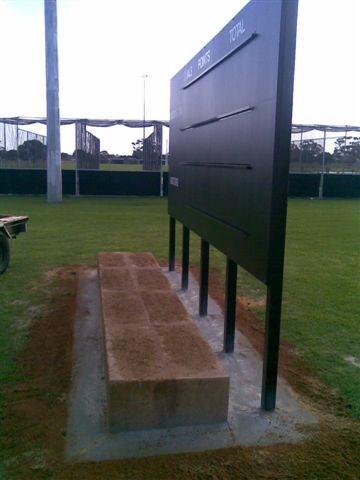 Multisports AFL scoreboard frame