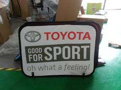 Toyota Cricket Scoreboard