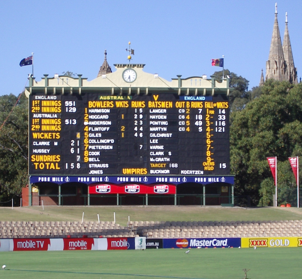 adelaide oval cleverscore