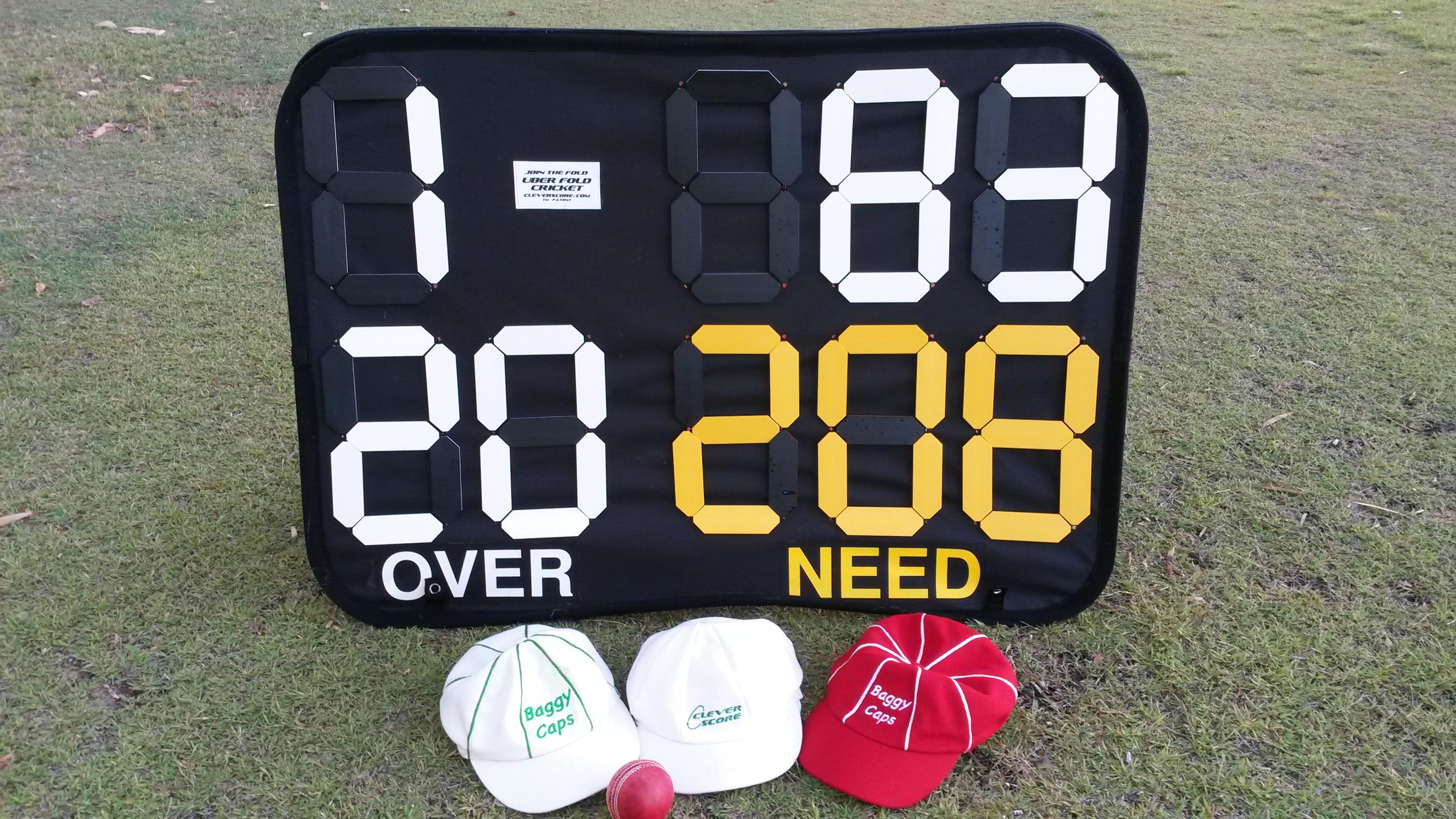 $99 only cricket scoreboard