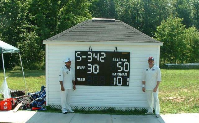 USA Cricket Field of Dreams Scoreboard by CleverScore