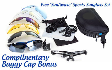 Baggy Caps Free Sunglass Set Offer