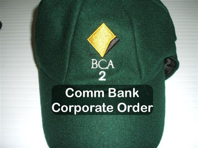 Comm Bank Baggy Cap