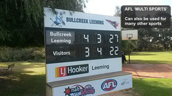 AFL Multi Sports CleverScore Scoreboard