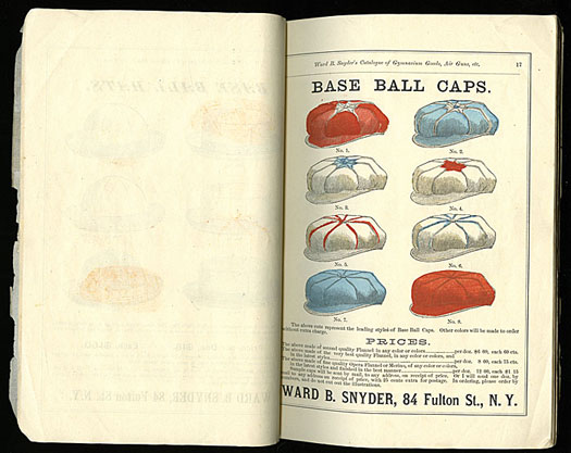Sports Cap Catalogue