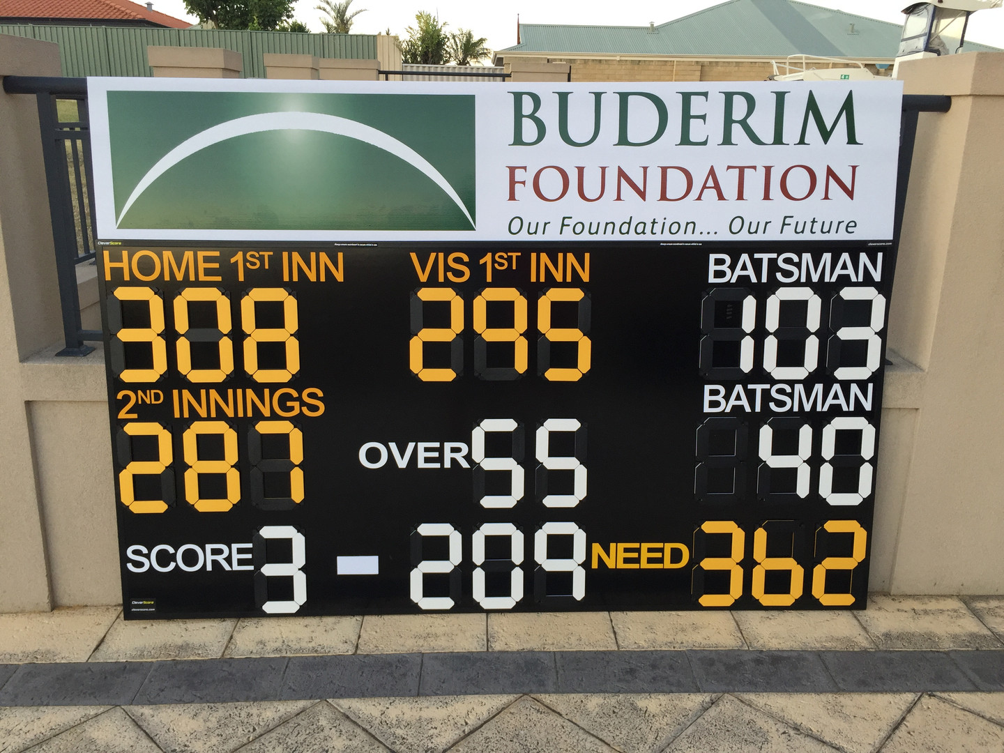 Shield Cricket Scoreboard by CleverScore