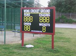 custom cricket scoreboard