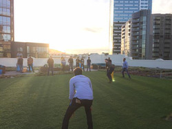 Twitter HQ Rooftop Cricket