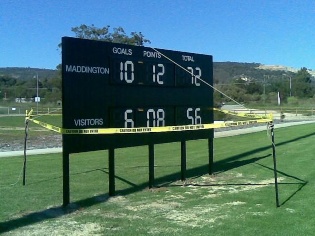 Multisports AFL Scoreboard 001