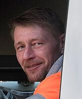 Kuorma-autonkuljettaja Marko Karttunen