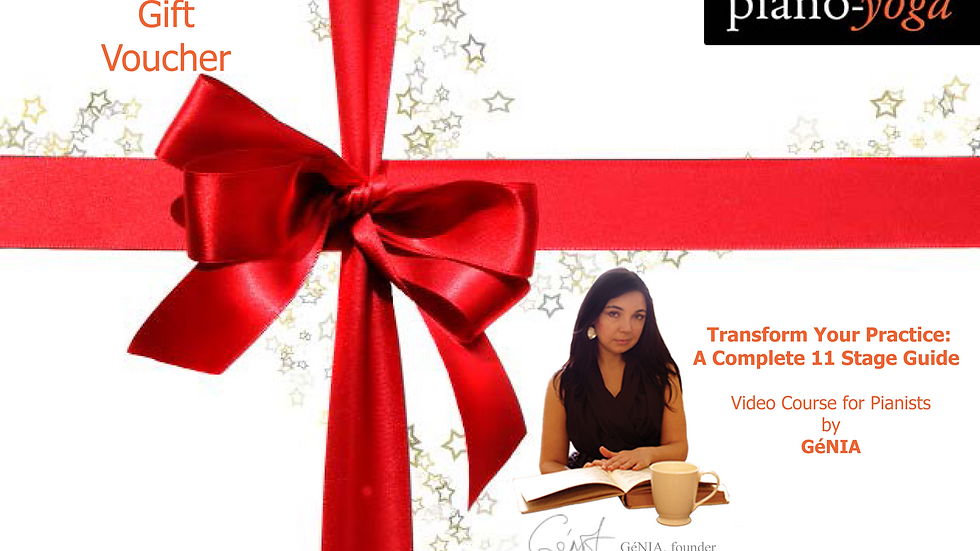 Gift Voucher for the Video Tutorial: Transform Your Practice by GéNIA