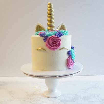 """6"""" Unicorn Cake"""