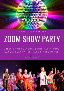 Zoom Show Party