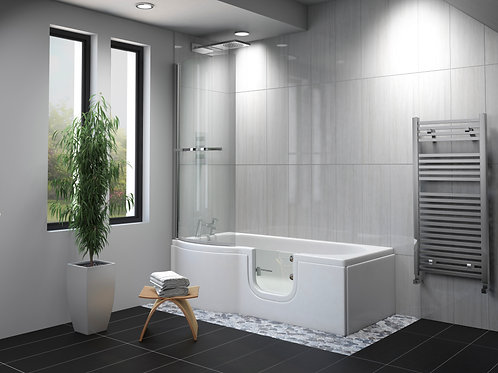 The Carnelian Walk In Shower Bath