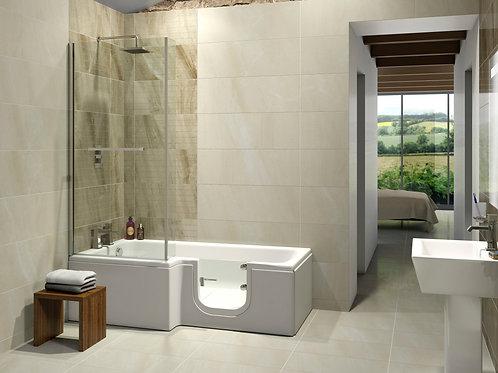 The Larimar Walk In Shower Bath