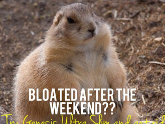 BLOATED AFTER THE WEEKEND?