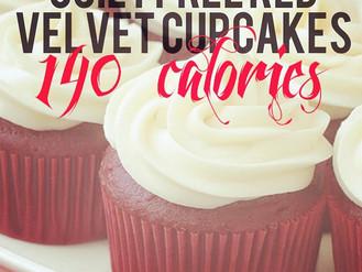 Guilt Free Red Velvet Cupcakes - 140 Calories!