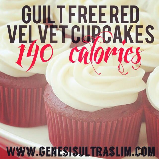 Instagram - Guilt Free Red Velvet Cupcakes! Ingredients:  For Frosting  6 tbsp.