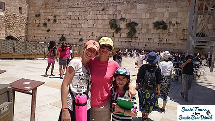 Kotel visit Diamond family
