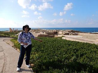 Susietours - Caesarea ruins Herod's palace