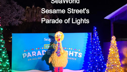 SeaWorld San Diego Sesame Street's Parade of Lights
