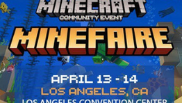 """The #1 Minecraft Community Event is Coming to Los Angeles """"Minefaire""""GIVEAWAY"""